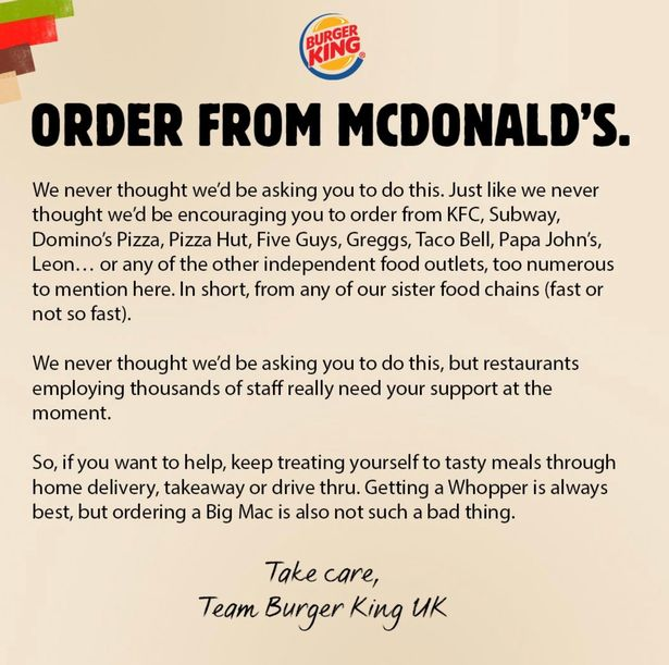 great marketing ideas from burger king